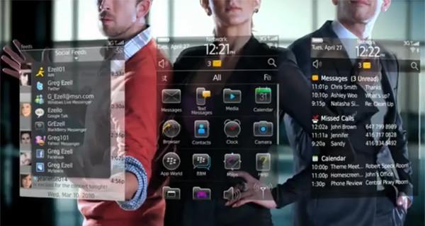 RIM blackberry video