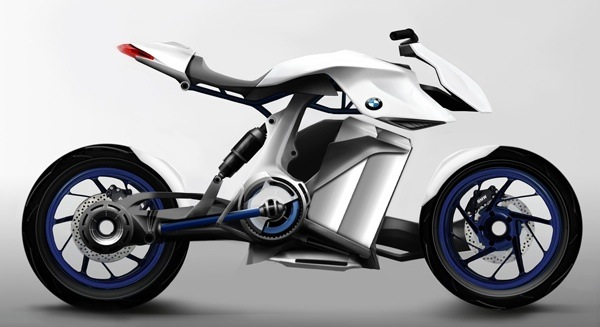 Fuel Cell Powered Bmw Bike Concept Revealed