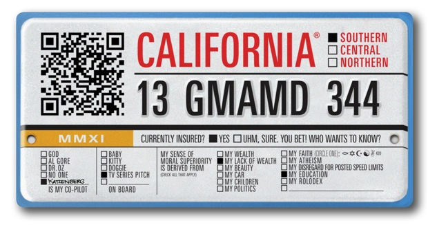rebranding the license plate: 4 designers clean up graphic road kill