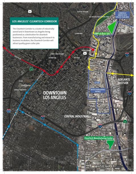 LA Cleantech Corridor