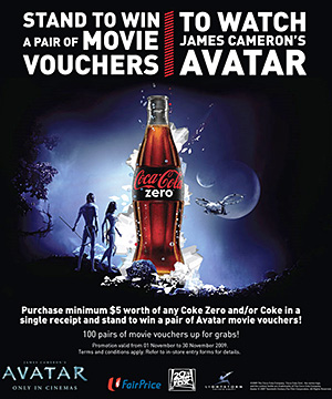 Coke and Avatar
