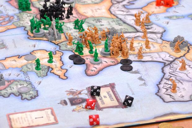 Conquer board game