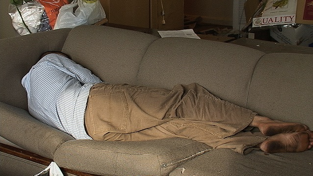 couch sleeping