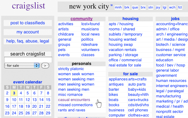 Griffith classifieds craigslist  casual