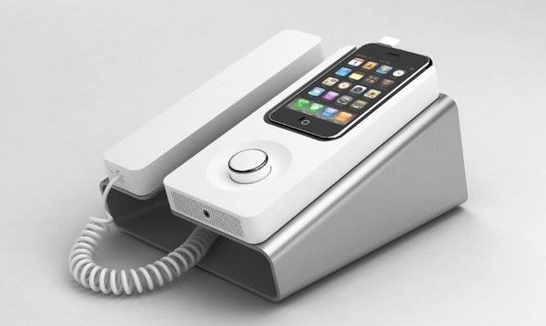 desk phone dock