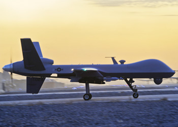 MQ-9 Reaper plane