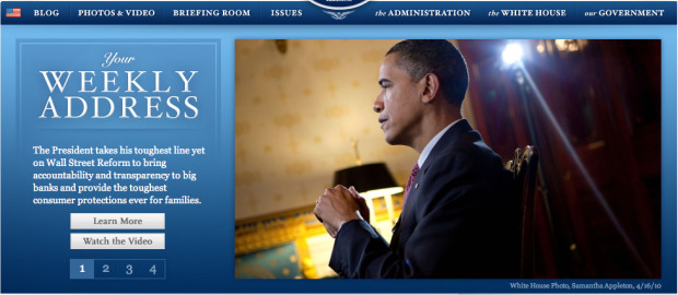 White House Web site