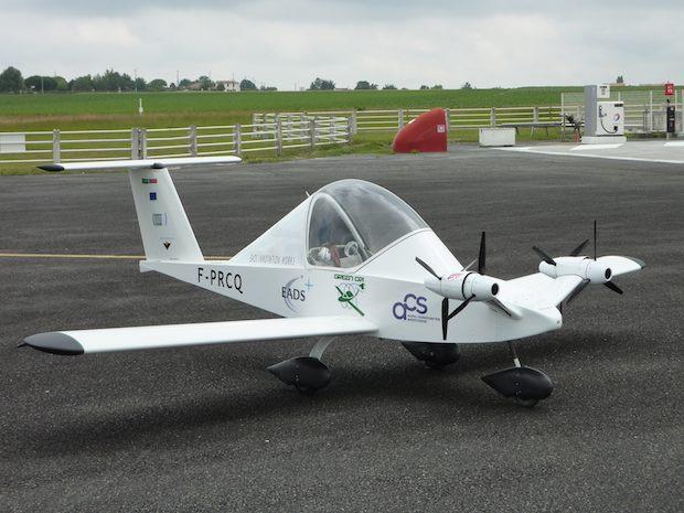 EADS Cri-Cri airplane