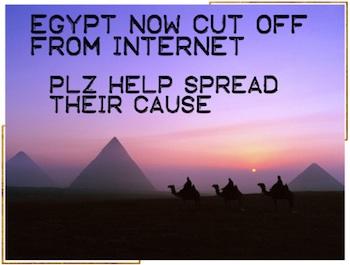 Egypt Polyvore message