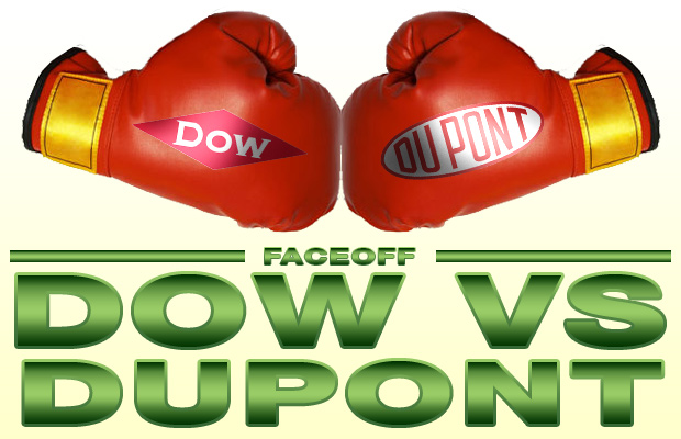 Dow DuPont faceoff