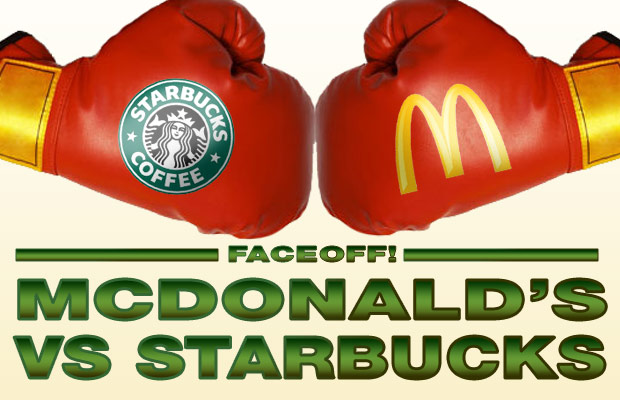 mcdonalds starbucks faceoff