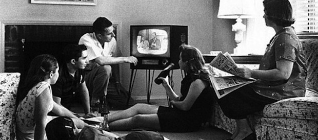 old family TV