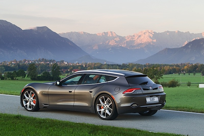 Fisker Karma  Door Sports Car