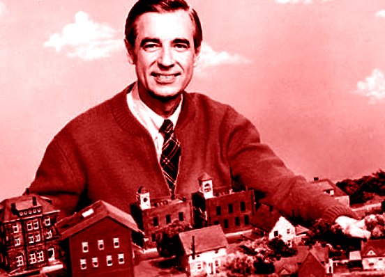 red mister rogers