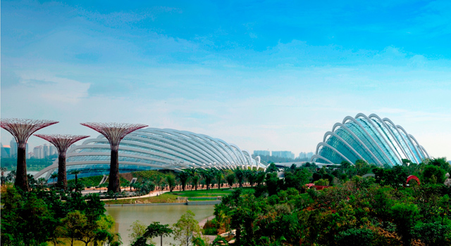 A Futuristic Singapore Garden That Reinvents The City