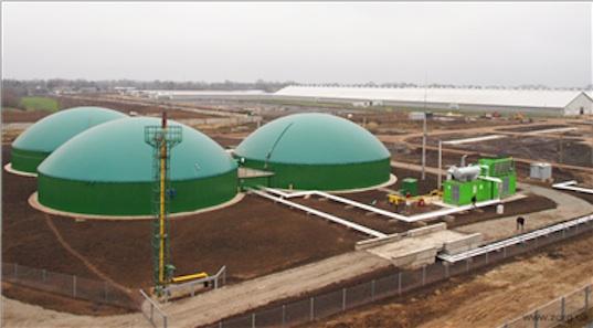 GE biogas plant