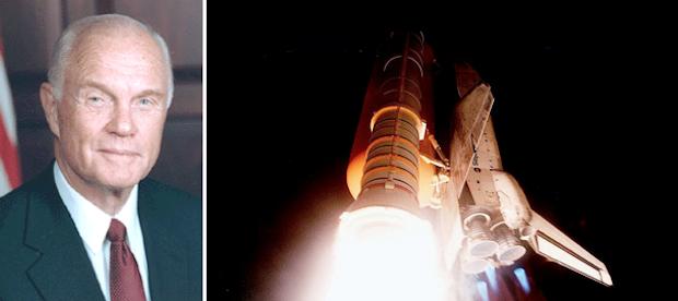 John Glenn-shuttle