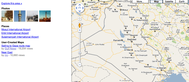 Google's Iraq Tour of Duty