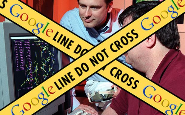 Google Instant blacklist