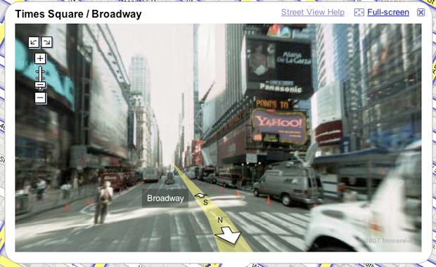 Ads In Google Maps Street View A Sign Of Things To Come