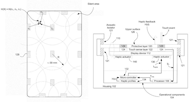 haptic Apple patent