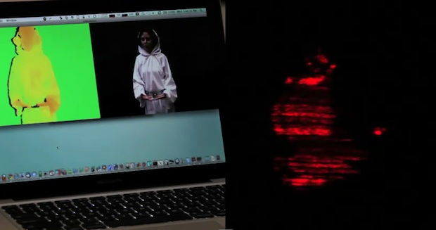 hologram Kinect