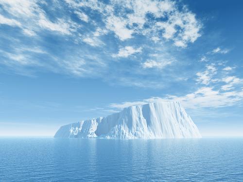 glacial ice cap