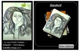 ImageFlow basket