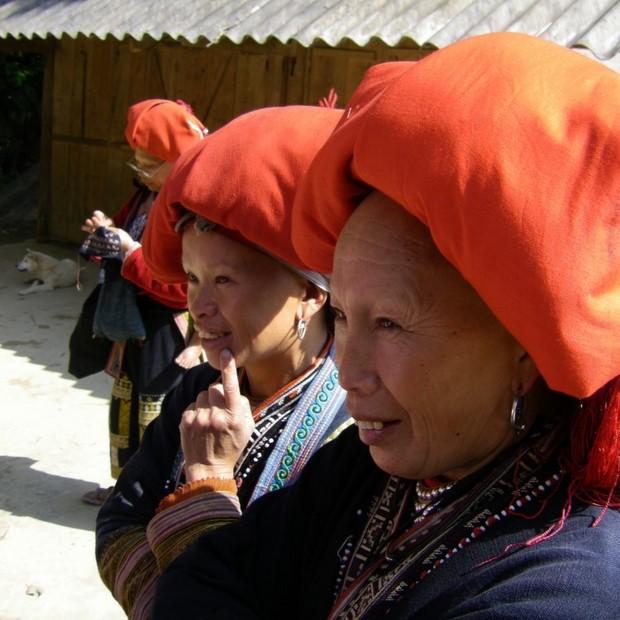 Cambodian seamstresses