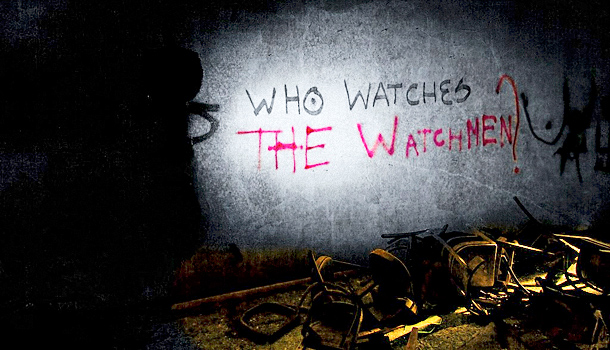 Image result for who's watching the watchmen""