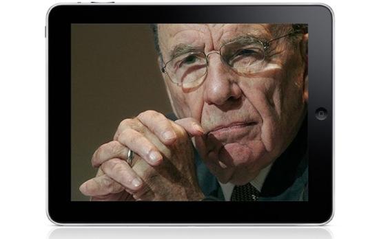 iPad and Rupert Murdoch