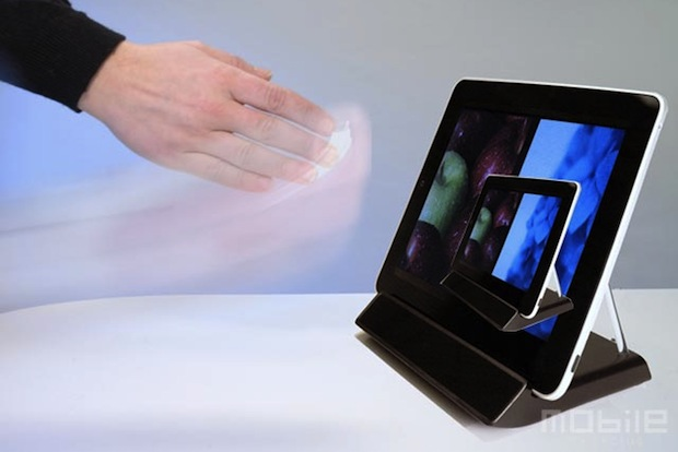 Elliptic touchless iPad