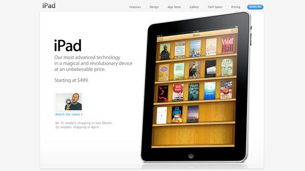 apple ipad s ibookstore to carry 30 000 free public domain books chal