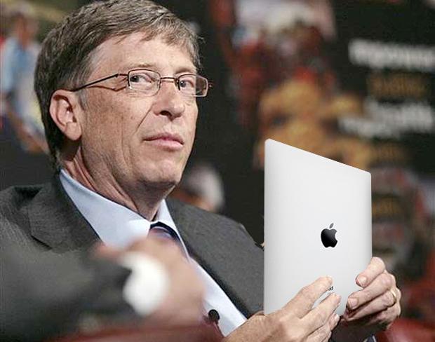 Bill Gates iPad