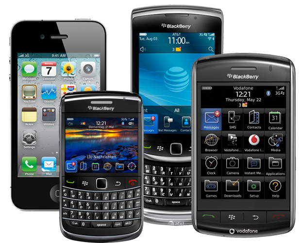 Despite Steve Jobs Predictions Rim S Blackberry Catches Up To Le Iphone