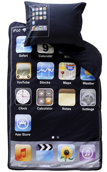 iPhone bedding