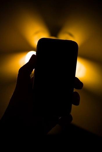 iPhone shadow