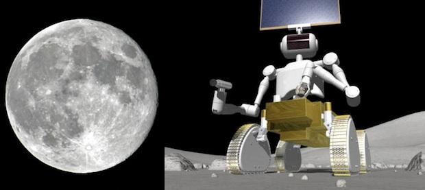 japan moon robot