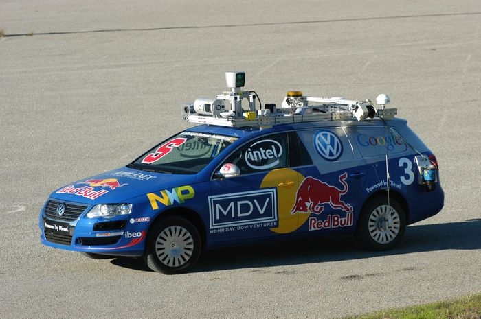 Stanford autonomous car