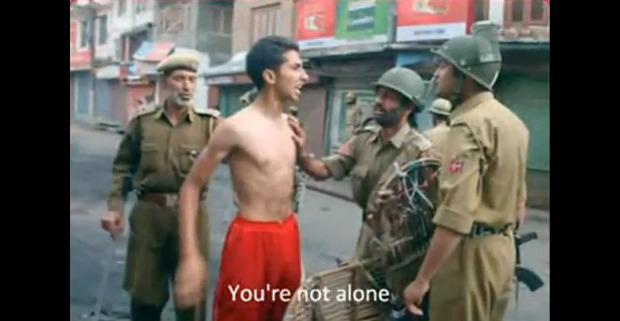 Kashmir troops dwith citizen