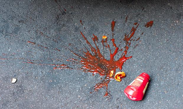 ketchup splat