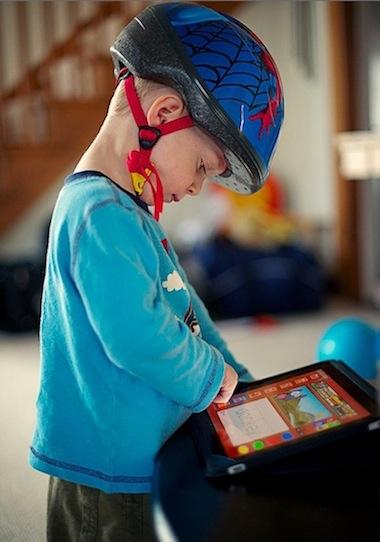 kid iPad