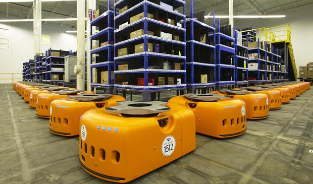 Kiva Systems robots