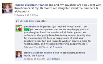 Kneebouncers Facebook