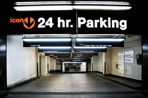 NY parking garage