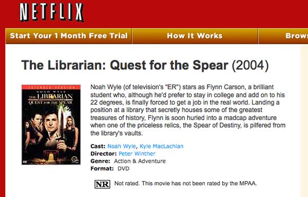 Netflix: The Librarian
