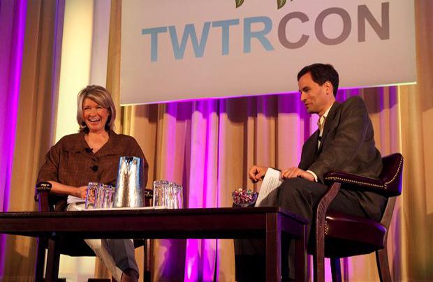 Martha Stewart at TwtrCon