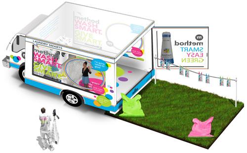 Method Laundry Truck