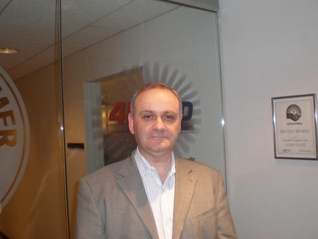 Mike Harrison of Trojan Condoms