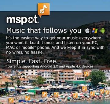 mSpot ad